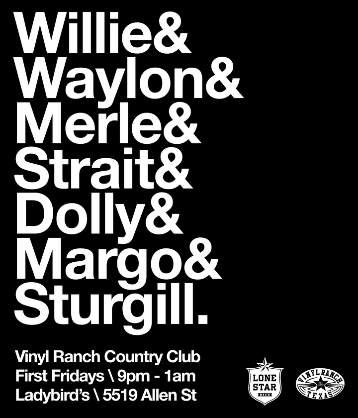 Vinyl Ranch @ Ladybird's  - Houston, TX