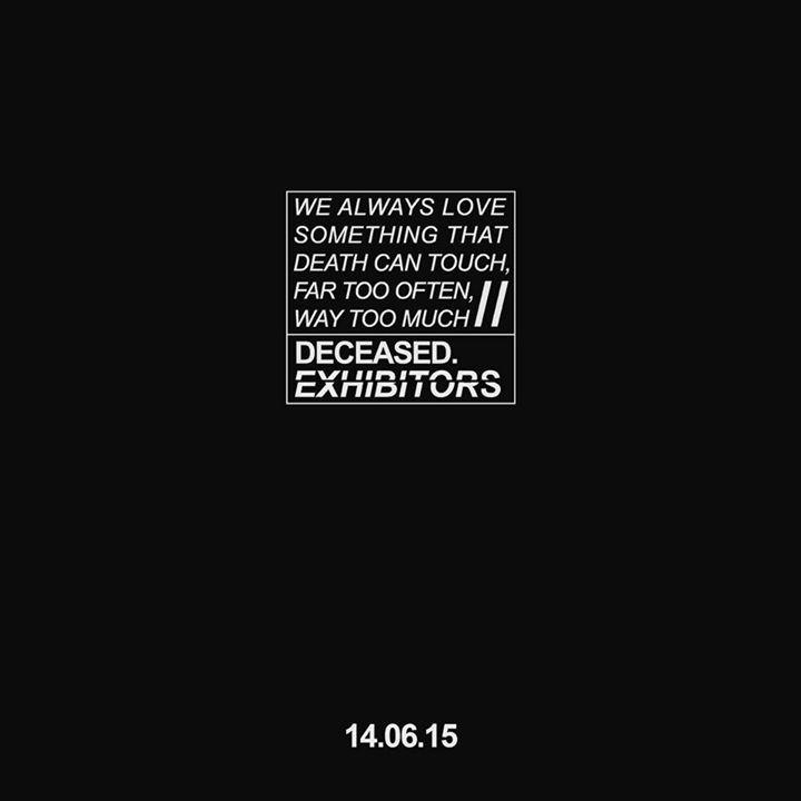 Exhibitors Tour Dates