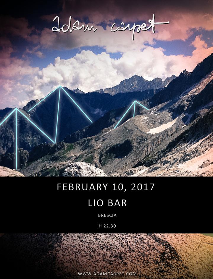Adam Carpet @ lio bar - Brescia Bs, Italy