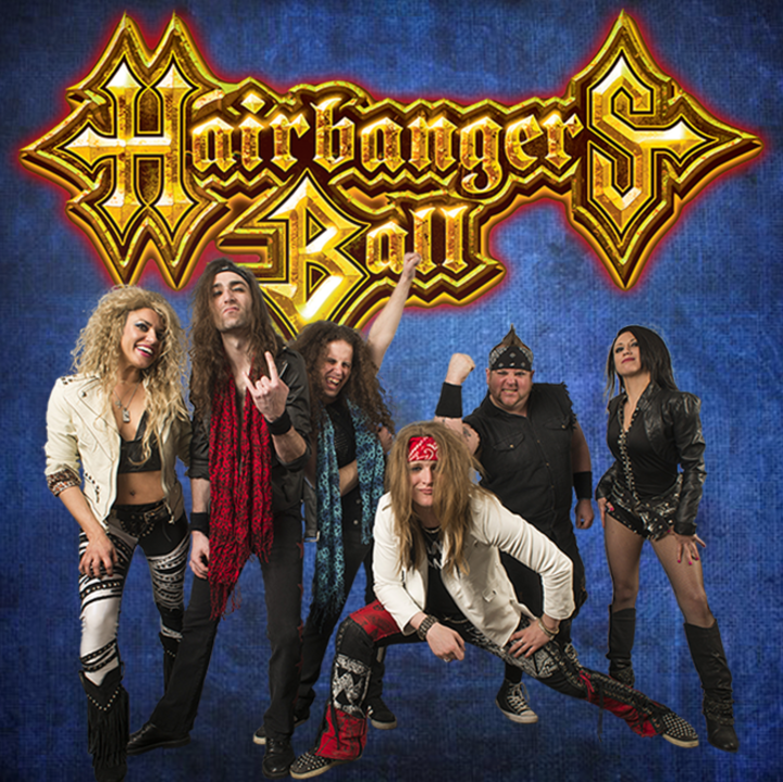 Hairbangers Ball Tour Dates