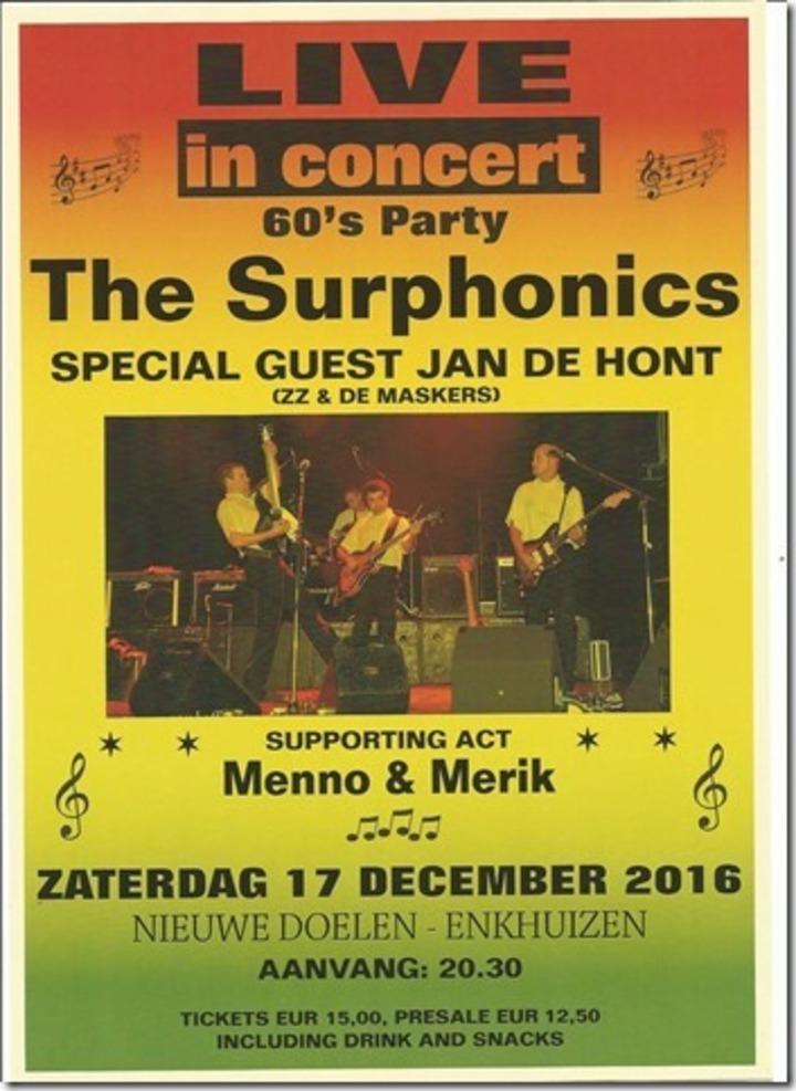 The Surphonics @ De Nieuwe Doelen - Enkhuizen, The Netherlands