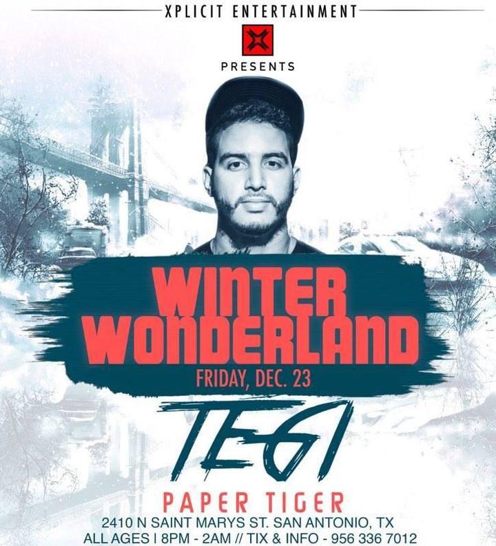 Tegi @ Paper Tiger - San Antonio, TX