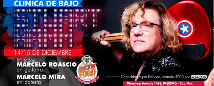 Marcelo Roascio @ Rockin' Food - Buenos Aires City, Argentina