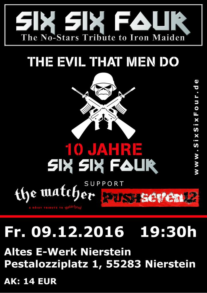 SixSixFour - The No-Stars Tribute to Iron Maiden @ Altes E-Werk - Nierstein, Germany