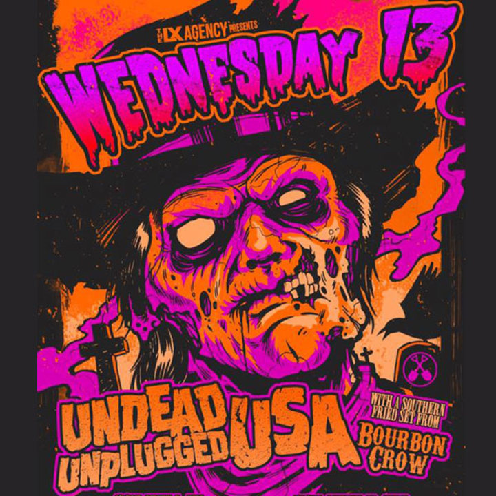 Wednesday 13 @ The Grape Room - Philadelphia, PA