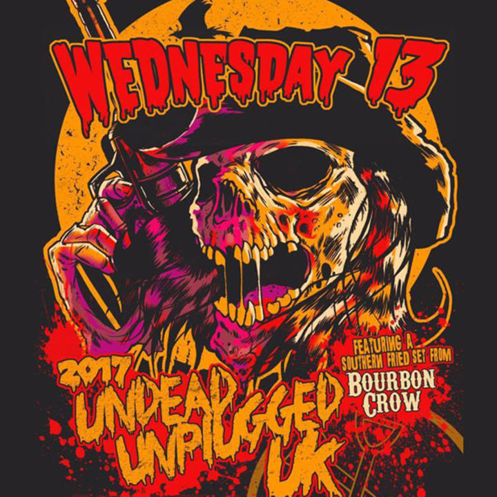 Wednesday 13 @ The Underworld - London, United Kingdom