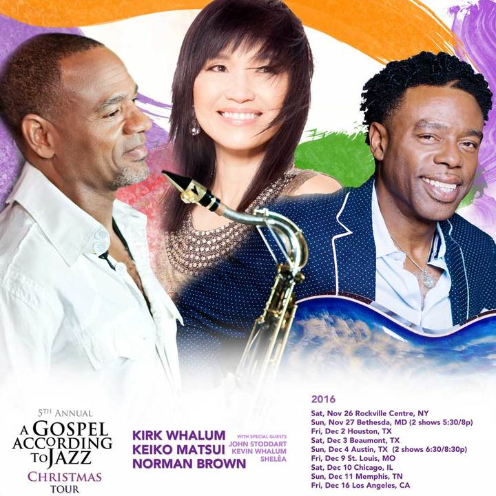 Kirk Whalum @ Sawyer Auditorium - Houston, TX