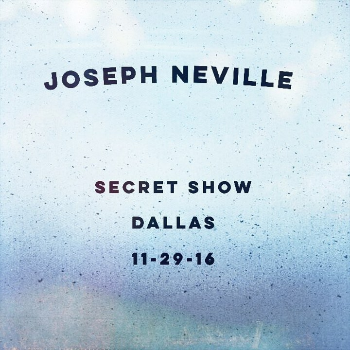 Joseph Neville @ Secret - Dallas, TX