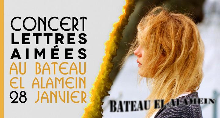 Adrien Regard @ Bateau El Alamein - Paris, France