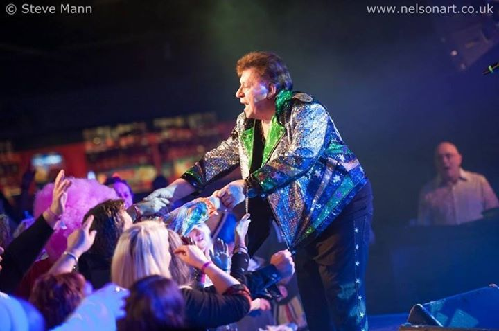 John Rossall founder of the Glitter Band @ Rugby Club - Corby, United Kingdom