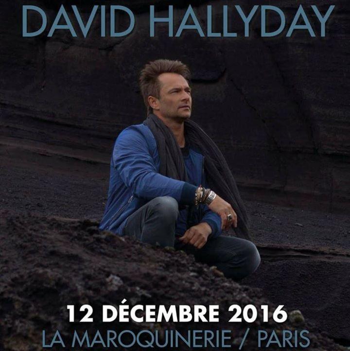 David Hallyday Tour Dates