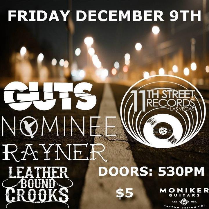Guts @ 11th St Records - Las Vegas, NV