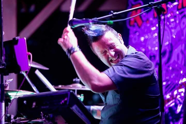 Rick Mailhiot-Drummer @ Champion's - Biddeford, ME