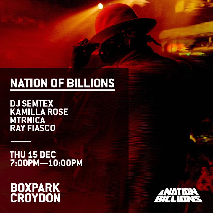 DJ Semtex @ BOXPARK - Croydon, United Kingdom