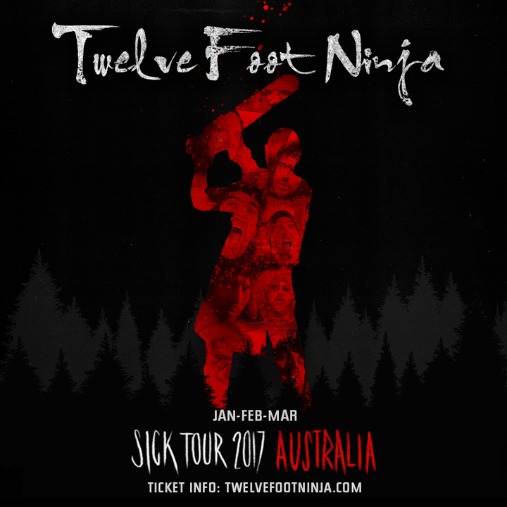 Twelve Foot Ninja @ Village Green Hotel - Mulgrave Vic, Australia
