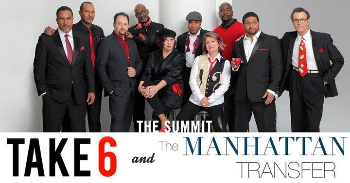 The Manhattan Transfer @ Newberry Opera House - Newberry, SC