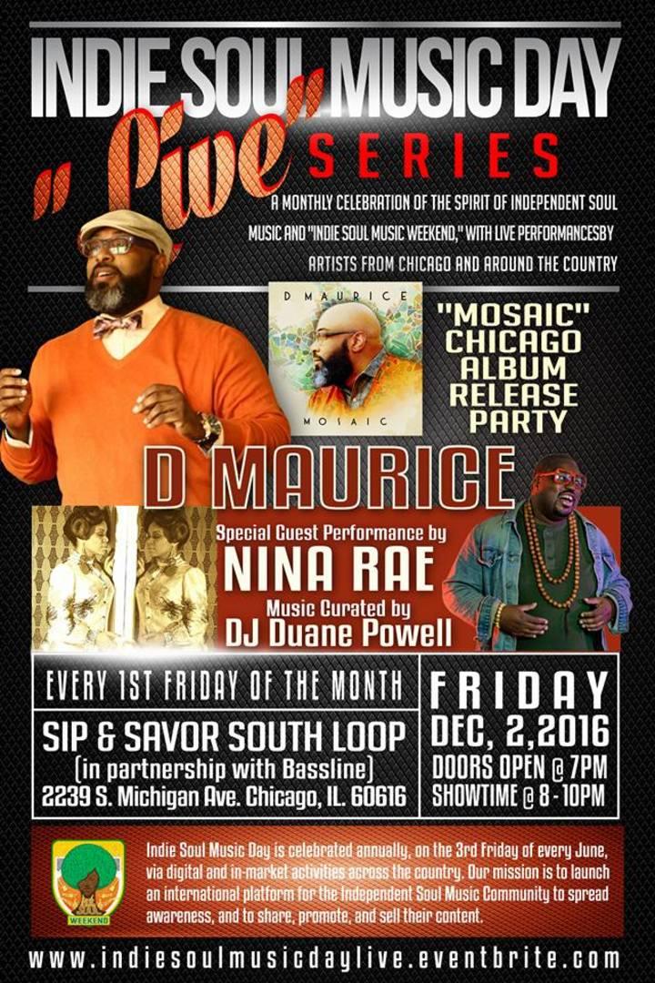 DJ Duane Powell @ Sip & Savor - Chicago, IL