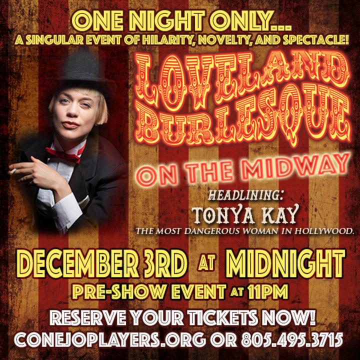 Tonya Kay @ Conejo Theatre - Thousand Oaks, CA