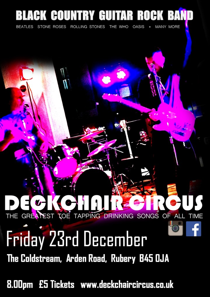 Deckchair Circus @ The Coldstream - Birmingham, United Kingdom