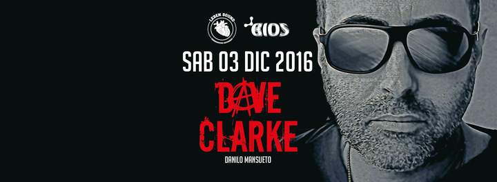 Dave Clarke (Official) @ Domus Area - Foggia, Italy