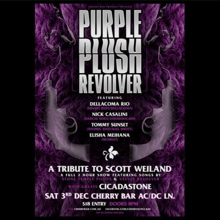 Purple Plush Revolver @ Cherry Bar - Melbourne, Australia