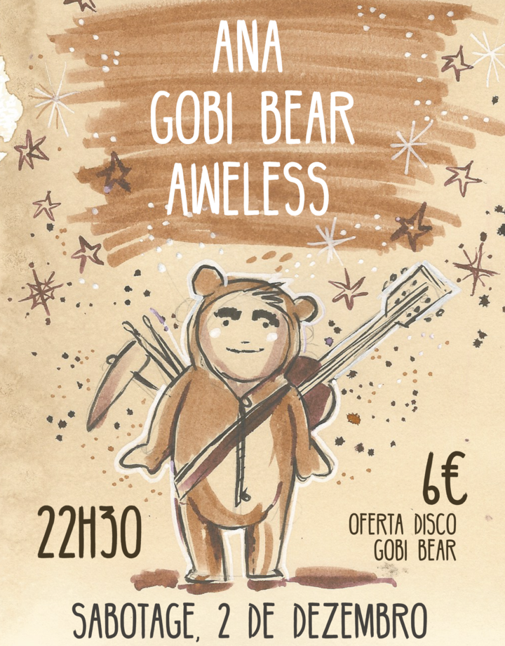 Gobi Bear @ sabotage club - Lisbon, Portugal