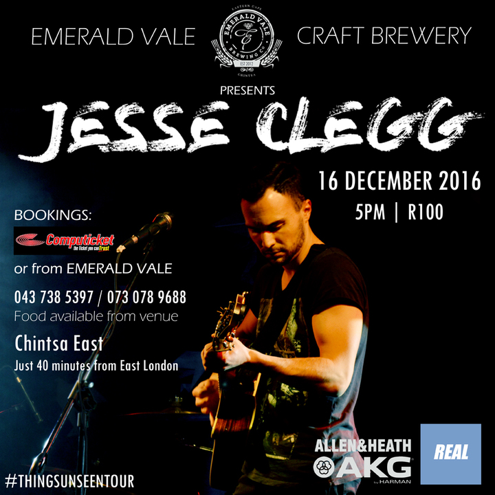 Jesse Clegg @ Emerald Vale Craft Brewery - East London, South Africa