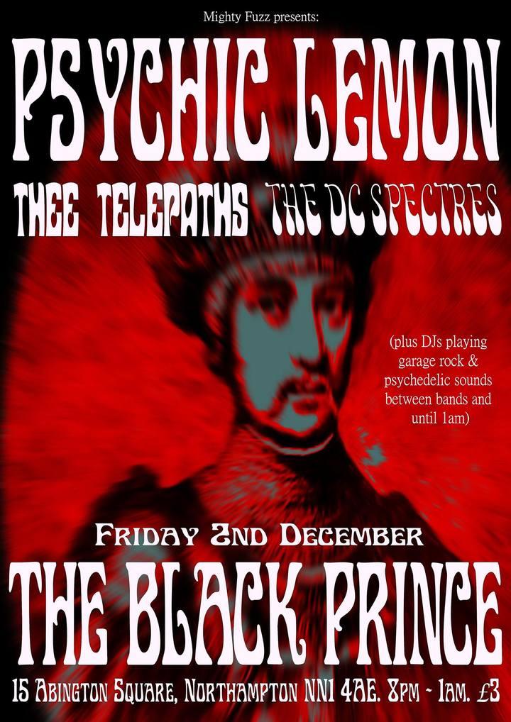 Psychic Lemon @ The Black Prince - Northampton, United Kingdom