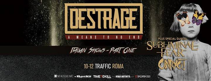Subliminal Fear @ Traffic Live Club - Roma, Italy