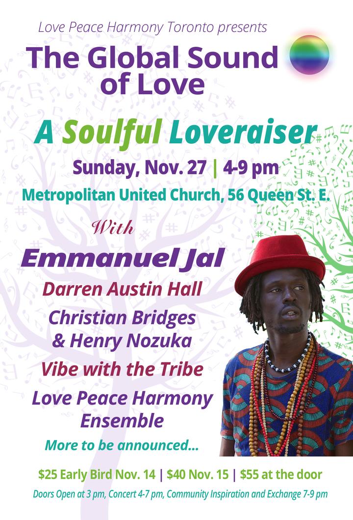 Emmanuel Jal @ Metropolitan United Church - Toronto, Canada