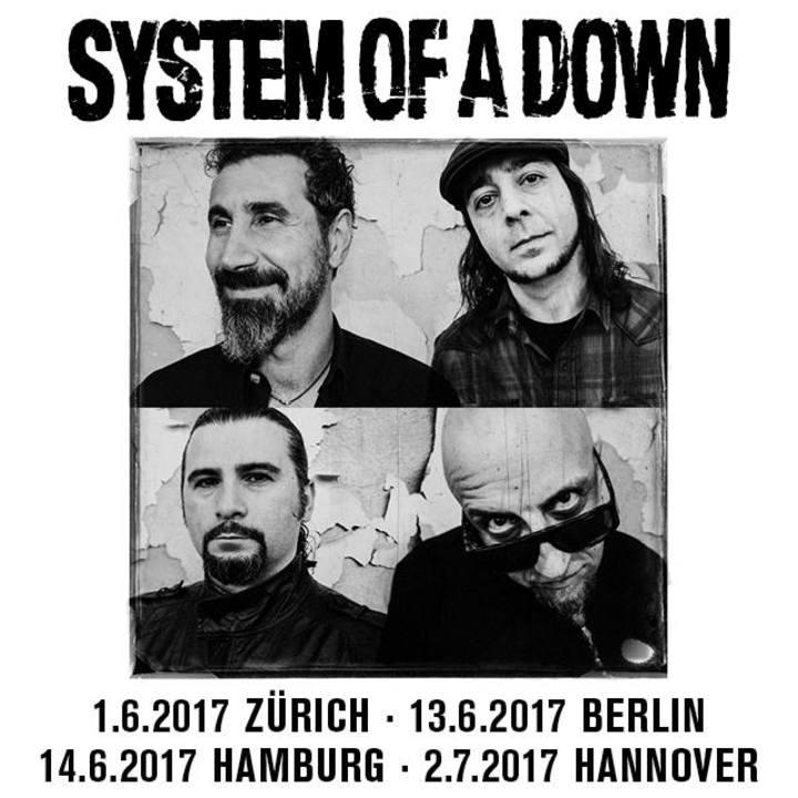 Victims of a Down @ Hallenstadion - Zurich, Switzerland