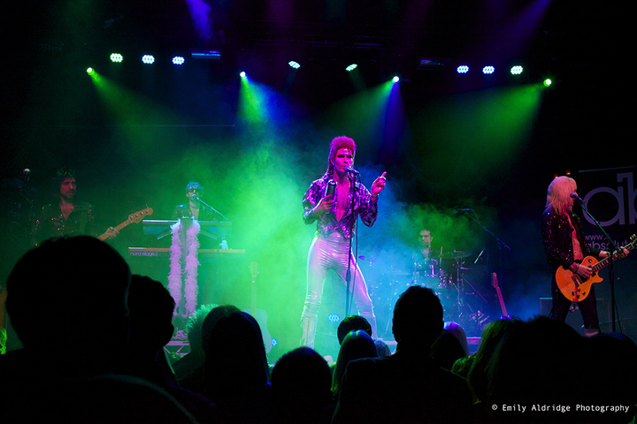 Absolute Bowie Band @ The Picturedrome - Holmfirth, United Kingdom