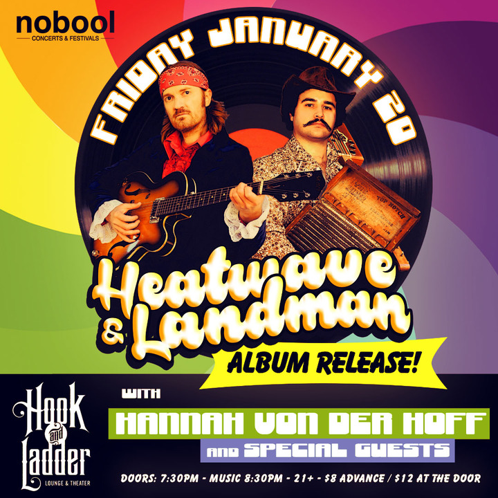 Heatwave & Landman @ The Hook & Ladder Theater & Lounge - Minneapolis, MN