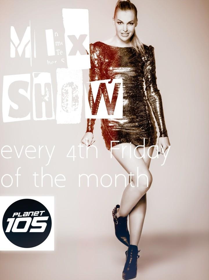 Tanja La Croix @ Planet 105 DJ-Night Mix-Show - Zurich, Switzerland