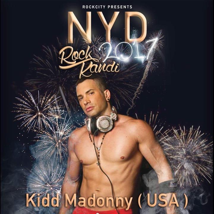 DJ Kidd Madonny @ ROCK Kandi  NYD  - Port Melbourne, Australia