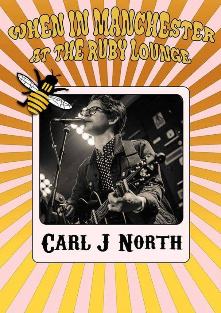 Carl North & The Lonely Hearts @ The Ruby Lounge - Manchester, United Kingdom