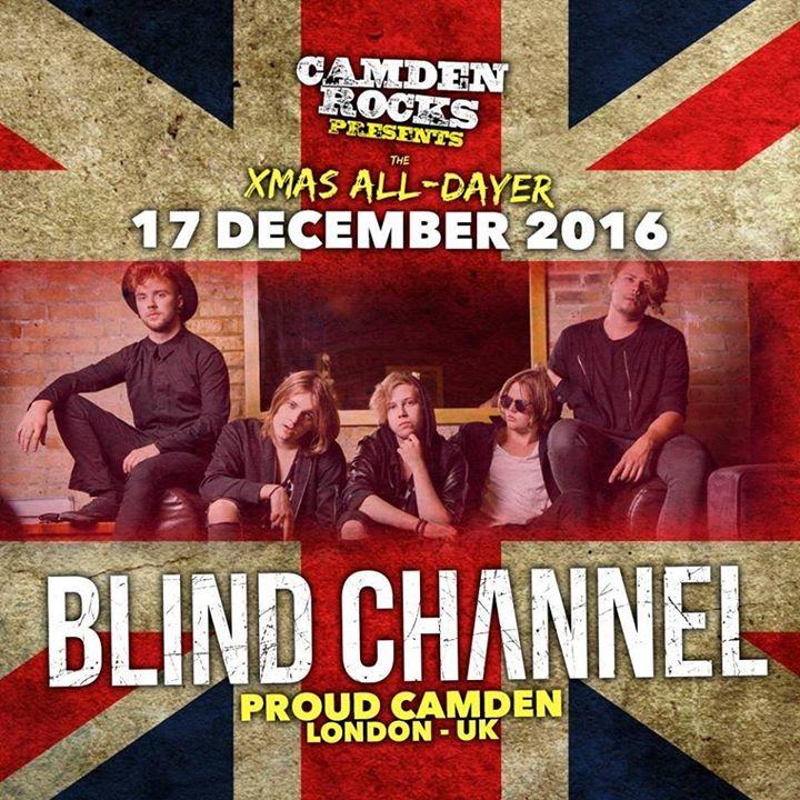 Blind Channel Tour Dates