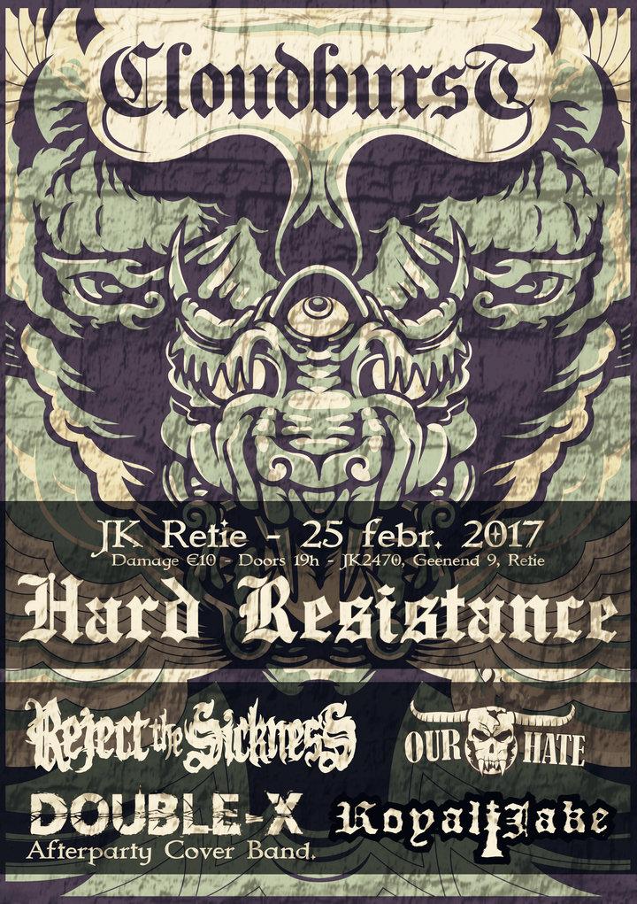 Reject The Sickness @ JK-RETIE - Retie, Belgium