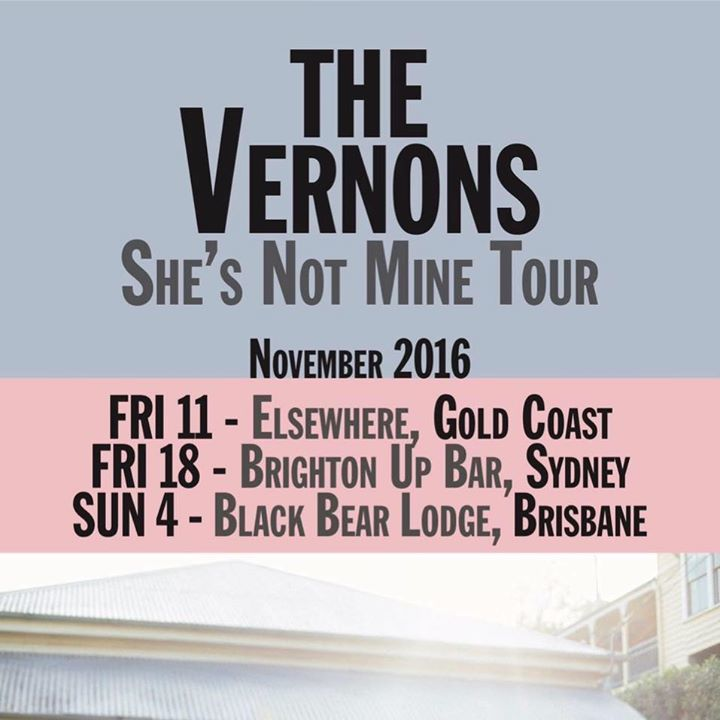 The Vernons Tour Dates