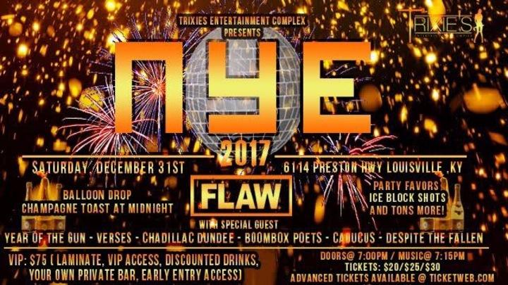 Flaw @ Trixie's Entertainment Complex - Louisville, KY