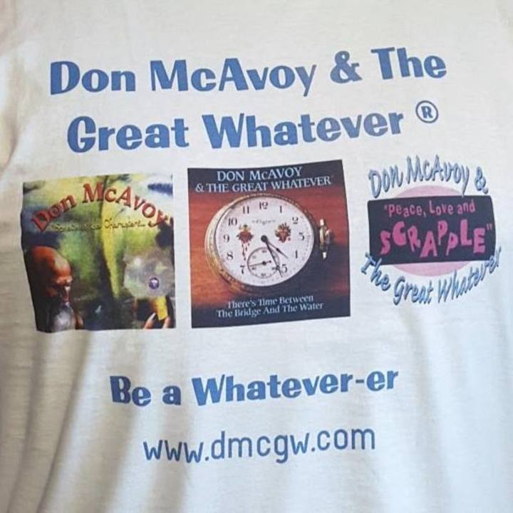 Don McAvoy & The Great Whatever Tour Dates