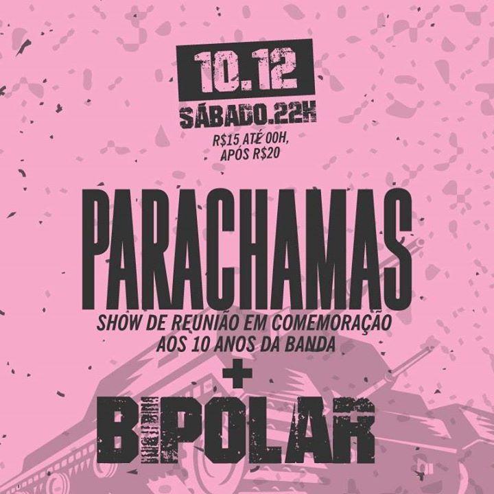 Parachamas Tour Dates