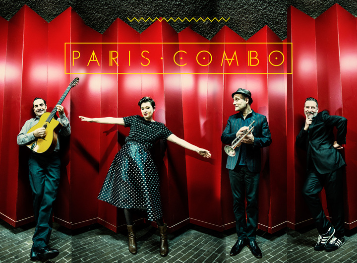 Paris Combo (Official) @ Theatre des miroirs - La Glacerie, France