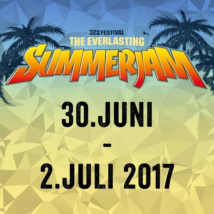 Summerjam Festival Tour Dates