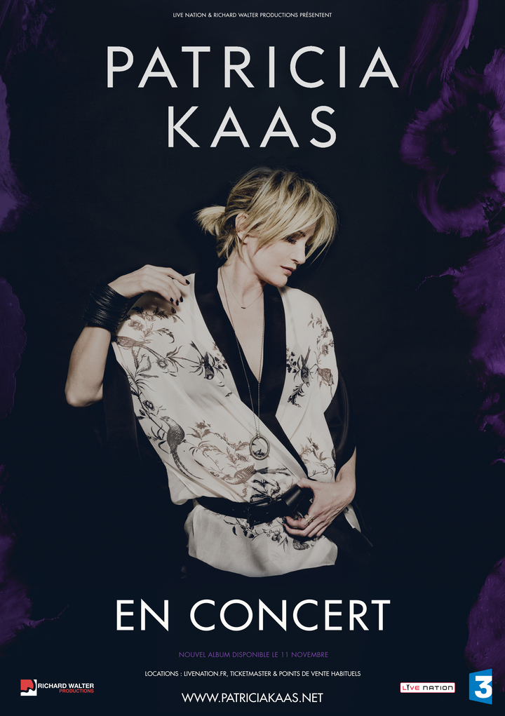Patricia Kaas @ Zenith D'amiens - Amiens, France