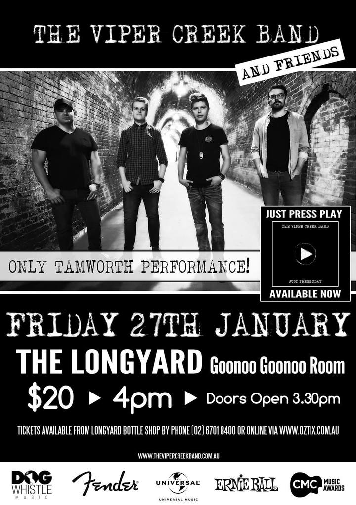 The Viper Creek Band @ Longyard Hotel - Tamworth, Australia