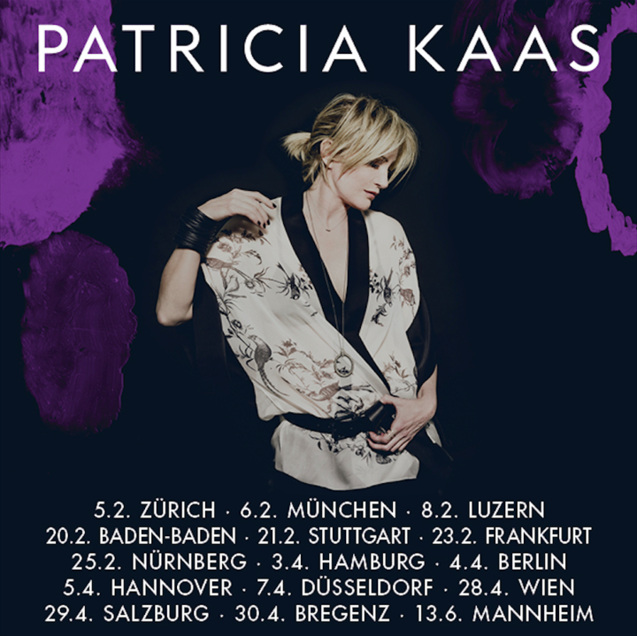 Patricia Kaas @ Kuppelsaal im HCC - Hannover, Germany
