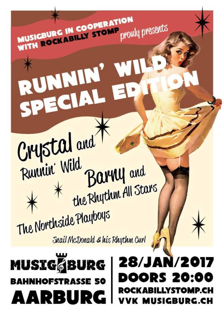 Crystal and Runnin' wild @ Musigburg - Aarburg, Switzerland