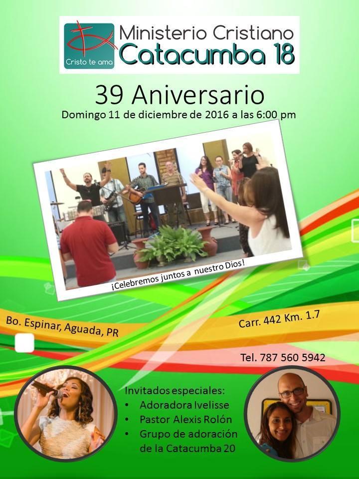Ivelisse @ Ministerio Cristiano Catacumba #18 - Aguada, PR