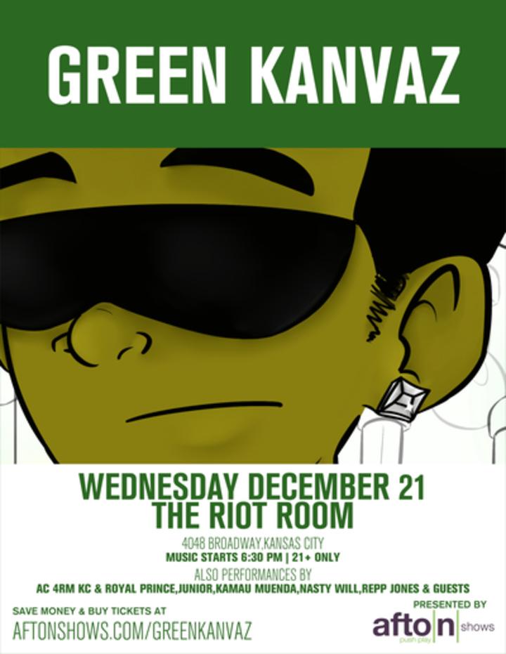 Green Kanvaz Tour Dates